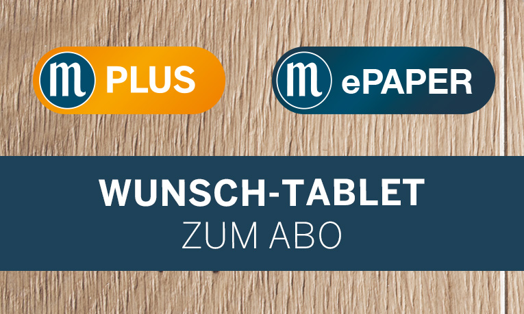 M-Plus, ePaper inkl. Tablet