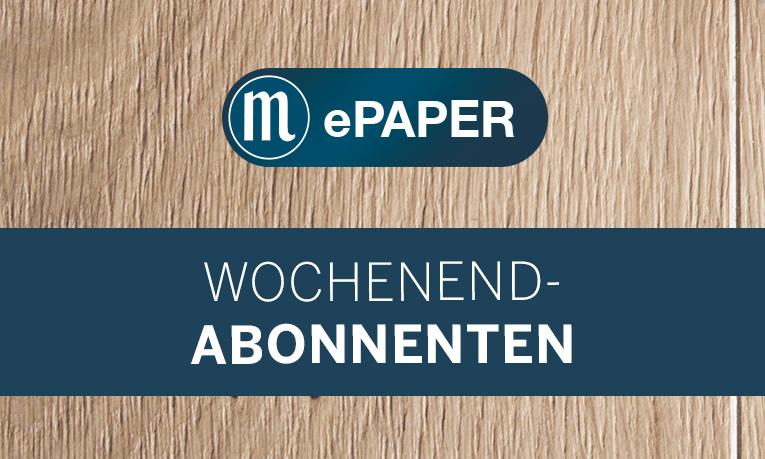 ePaper-Abo für Zeitungs-Wochenend-Abonnenten