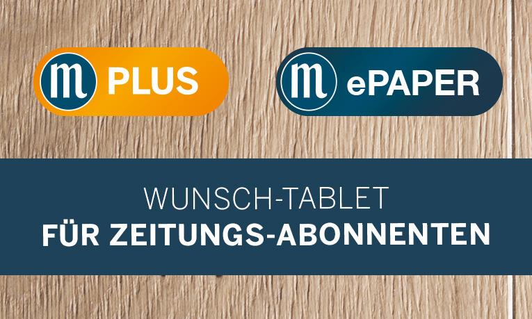 M-Plus, ePaper inkl. Tablet für Print-Abonnenten